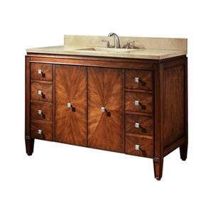 Avanity 49-in Brentwood Bathroom Vanity with Countertop and