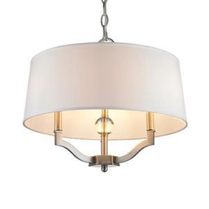 Golden Lighting 3500-SF Waverly 3500-SF 3 Light Semi Flush/P