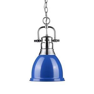 Golden Lighting 3602-S Duncan 1 Light Mini Pendant,3602-S CH