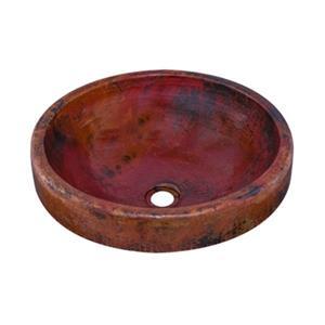 Granada Round Surface Mount Copper Sink