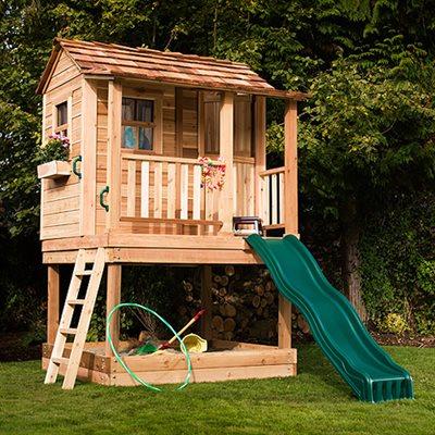 Outdoor Living Today Little Cedar Playhouse 6 X 6