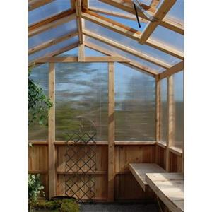 Outdoor Living Today 8-ft x 8-ft Cedar Greenhouse,CGH88 ... on Lowes Outdoor Living id=34025