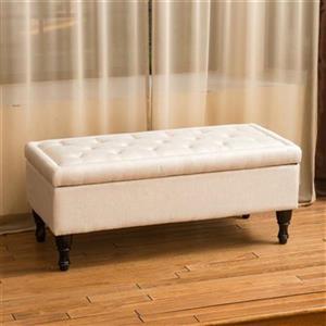 Best Selling Home Decor Chantelle Storage Ottoman,239305