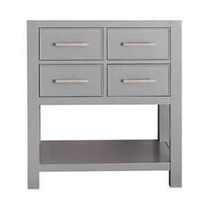 Avanity 30-in Brooks Bathrooom Vanity Only,BROOKS-V30-CG
