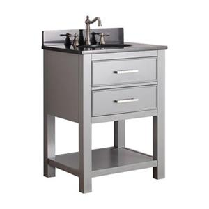 Avanity Brooks 24-in Bathroom Vanity Combo,BROOKS-VS24-CG-A\n