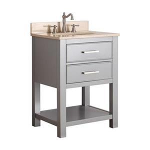 Avanity Brooks 24-in Bathroom Vanity Combo,BROOKS-VS24-CG-B