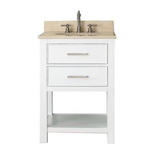 Avanity Brooks 24-in Bathroom Vanity Combo,BROOKS-VS24-WT-B