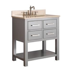 Avanity 30-in Brooks Bathroom Vanity Combo,BROOKS-VS30-CG-B