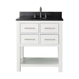 Avanity 30-in Brooks Bathroom Vanity Combo,BROOKS-VS30-WT-A\n