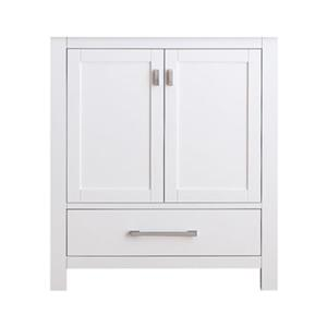 Avanity Modero 30-in Bathroom Vanity Only,MODERO-V30-WT