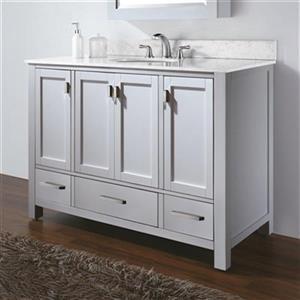 Avanity Modero 48-in Bathroom Vanity Only,MODERO-V48-WT
