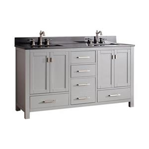 Avanity Modero 60-in Double Bathroom Vanity Combo,MODERO-VS6