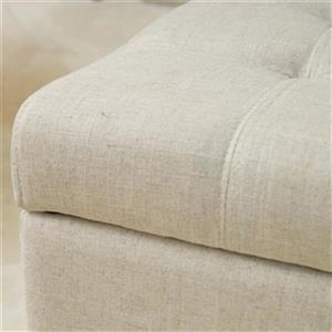 Best Selling Home Decor Mission Tufted Storage Ottoman Bench