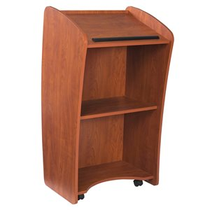 Oklahoma Sound Rolling Vision Floor Lectern