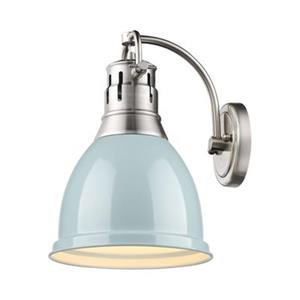 Golden Lighting 3602-1W Duncan 1 Light Wall Sconce,3602-1W P