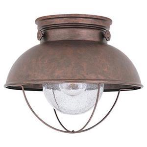Sea Gull Lighting Sebring LED Outdoor Ceiling Flush