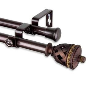 Rod Desyne Arielle Double Curtain Rod,4794-997