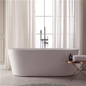 Avanity Aria Acrylic Oval Bathtub,ABT1524-GL
