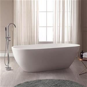 Avanity Flux Solid Surface Oval Bathtub,VBT1510-MT
