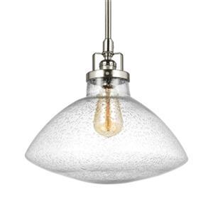 Sea Gull Lighting Belton 1-Light Pendant Light