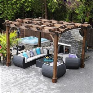 Outdoor Living Today BZ1012ARCH 10-ft x 12-ft Breeze Arched