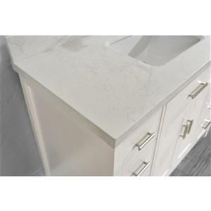 Spa Bathe Kenzie 48-in Bathroom Vanity,KZ48Wht-SSCTH