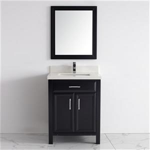 Spa Bathe Calumet 28-in Bathroom Vanity,CA28Esp-SSC