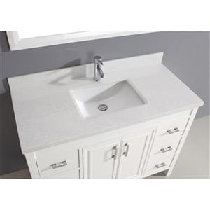 Spa Bathe Cora 48-in Bathroom Vanity,CO48Wht-SSCTH