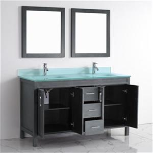 Spa Bathe Cora 60-in Bathroom Vanity,CO60FG-MGG