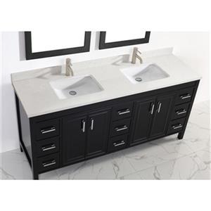 Spa Bathe Cora 75-in Bathroom Vanity,CO75Esp-SSCTH