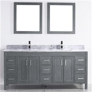 Spa Bathe Cora 75-in Bathroom Vanity,CO75FG-CWM