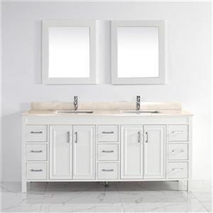 Cora 75-in Bathroom Vanity