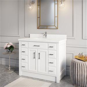 "Calumet Vanity with Sink - 42""- White"