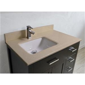 Spa Bathe Kenzie 36-in Single Sink Vanity,KZ36Esp-GBM