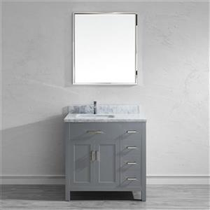 Spa Bathe Kenzie 36-in Single Sink Vanity,KZ36OG-CAR