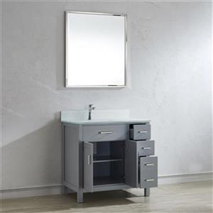 Spa Bathe Kenzie 36-in Single Sink Vanity,KZ36OG-MGG