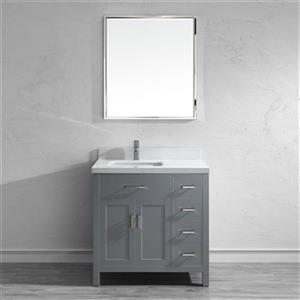 Kenzie 36-in Single Sink Vanity