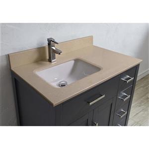 Spa Bathe Kenzie 36-in Single Sink Vanity,KZ36FG-GBM