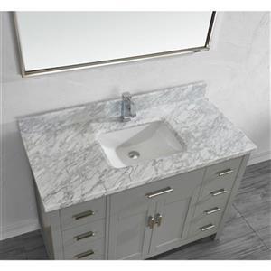 Spa Bathe Kenzie 48-in Single Sink Vanity,KZ48OG-CAR