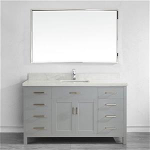 Kenzie 60-in Single Sink Vanity