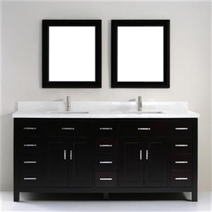 Kenzie 75-in Double Sink Vanity
