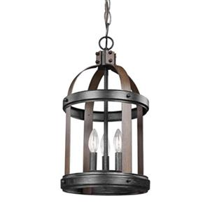 Sea Gull Lighting Lonoke 3-Light Hall/Foyer Pendant