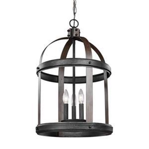 Sea Gull Lighting Lonoke 3-Light Hall/Foyer Pendant