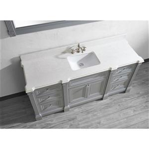 Spa Bathe Avella 72-in Bathroom Vanity,AV72OG-SSC