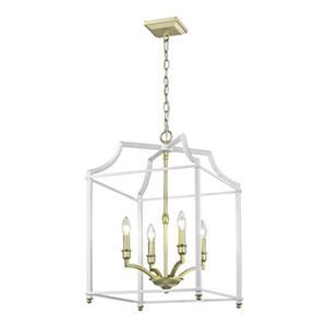 Golden Lighting 8401-4P Leighton 4-Light Pendant,8401-4P SB-