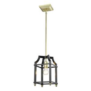 Golden Lighting 8401-M1L Leighton Mini Pendant,8401-M1L SB-B