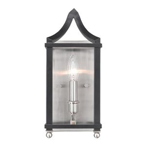 Golden Lighting 8401-WSC Leighton Wall Sconce,8401-WSC PW-BL