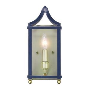Golden Lighting 8401-WSC Leighton Wall Sconce,8401-WSC SB-NV