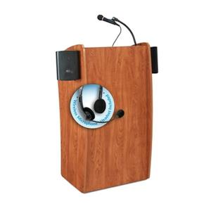 Oklahoma Sound Vision Sound Lectern with Wireless Microphone