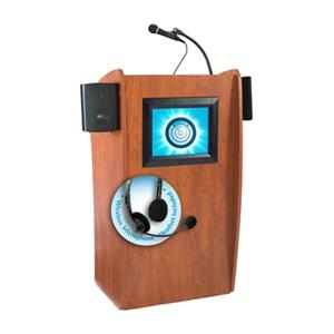 Oklahoma Sound Vision Sound and Screen Lectern with Wireless